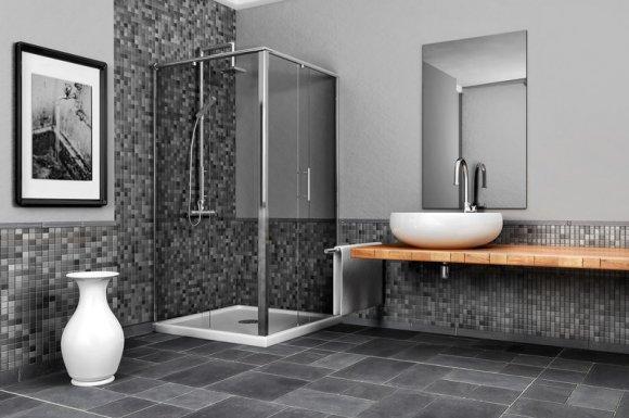 Entreprise pour la pose de carrelage dans salle de bain